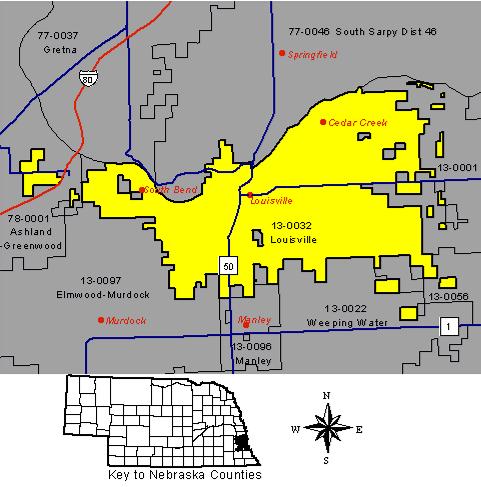 Nebraska Map By County.About Louisville Public Schools